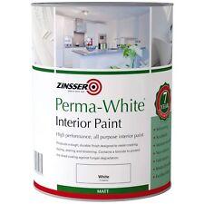 Zinsser Perma-blanc Intérieur Mat Moule Résistant peinture Coquille D'oeuf 2 5 L