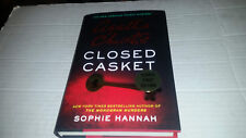 Closed Casket by Sophie Hannah and Agatha Christie (2016) SIGNED 1st/1st