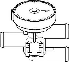 Vauxhall Calibra 1993-1997 Heater Valve Replacement Spare Replace Part