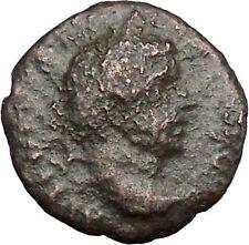 CARACALLA  Marcianopolis Moesia RARE Ancient Roman Coin Asclepius Serpent i49369