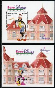 Maldive Islands Scott #1828-1831 MNH S/S Euro-Disney CV$15+
