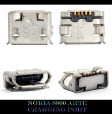NEW NOKIA 8800 ARTE SAPPHIRE USB CHARGING PORT DOCK SOCKET CONNECTOR JACK PART