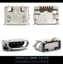 NEW NOKIA 8800 ARTE SAPPHIRE USB CHARGING PORT DOCK SOCKET CONNECTOR JACK PART