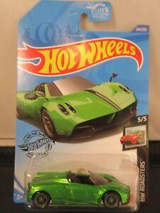 2020 Hot Wheels Super Treasure Hunt 2017 Pagani Huarya Roadster