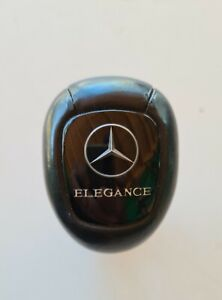Genuine Mercedes Black Leather Gear Shift Knob Elegance W210 E Class W208 CLK