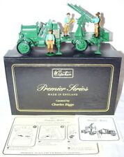 W.Britain 1:32 WWI BRITISH THORNYCROFT ANTI-AIRCRAFT CANNON TRUCK + CREW Set MIB