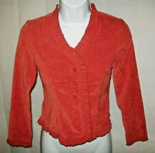 Maurices Girl/'s Long Sleeve Crop Faux Suede Button Up Jacket Size XL