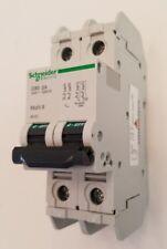 Schneider Electric 60137 UL489 Multi-9 2A 2-Pole C60 Circuit Breaker