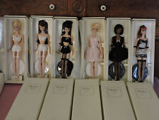 COMPLETE SET OF LINGERIE BARBIE DOLLS MINT & NEVER REMOVED FROM BOXES
