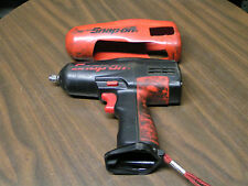 """SNAP-ON 12V 3/8"""" IMPACT WRENCH MODEL#CT3110HP SER#09386 - TOOL ONLY W/ BOOT"""
