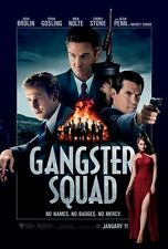GANGSTER SQUAD 27x40 D/S Original Movie Poster One Sheet RYAN GOSLING EMMA STONE