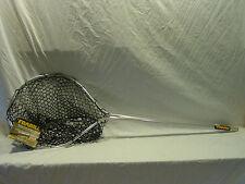 """NEW FRABILL 16 X 20 TEARDROP 30"""" FIXED HANDLE FISHING RUBBER NET"""