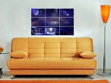 "DAFT PUNK MOSAIC 35/""X25/"" INCH WALL POSTER DANCE ELECTRO DJ"