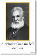 Alexander Graham Bell - Telephone Inventor POSTER
