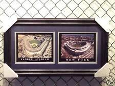 "Yankee Stadium Old & New double 8x10""s   27""x15"" frame"