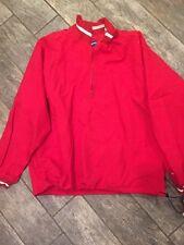 Vintage New Tags HOLLOWAY 1/2 Zip Weatherproof, Windbreaker Jacket Men's Size XL