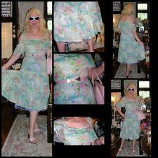 Chiffon Maxi Vintage Dresses for Women