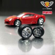 ITALY SPORT Rubber tires wheels for most 1:64 by Scuderia73