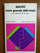 Teoria Generale della magia - Mauss -  Newton - 1975 - M