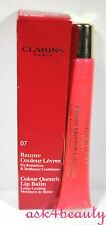 Clarins Colour Quench Lip Balm (07 Stawberry Sorbet) 0.5Oz/15ml New In Box