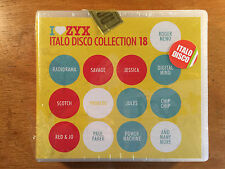 ZYX Italo Disco Collection 18 by Various Artists CD NEW