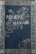 1887 Uzanne Reliure moderne artistique fantaisie EO 1/100 Japon RARE Bibliophile