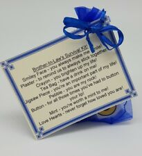 Brother-In-Law Survival Kit!  Fun, Novelty Gift Birthday Christmas present!