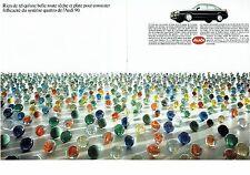 PUBLICITE ADVERTISING 017  1990  Audi 90  quattro ( 2 pages)