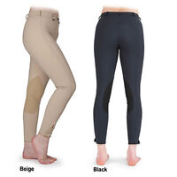 Shires WINTER Fleece Lined Waterproof Ladies Breeches UK 16 Black