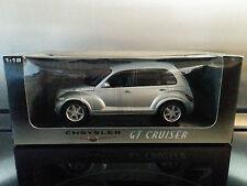 Auto Art 1:18 scale Chrysler GT Cruiser in silver