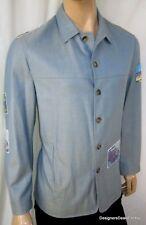 Ermenegildo Zegna & Robert Graham Men S Coat Jacket Cashmere Blue Small 48