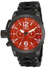 Invicta Mens 80053 Sea Spider Qtz Multifunction Red Dial Watch, UPC 886678130689