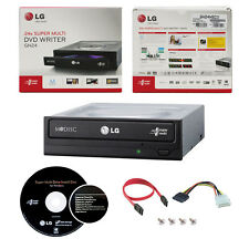 LG 24X DVD CD Burner+Software+SATA Cable GH24NSC0R Internal Writer Drive Retail