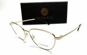 Versace VE1253 1252 Gold Women's Authentic Eyeglasses Frame 54-16