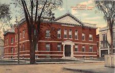 New Hampshire postcard Manchester Hillsboro County Court House