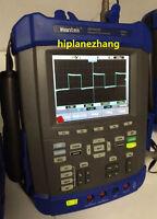 Handheld Oscilloscope 200MHz 1GSa/s Arbitrary Waveform Generator 25MHz DMM USB