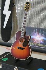 TOBY KEITH -Signature Sunburst Distressed Acoustic 1:4 Replica Guitar~Axe Heaven