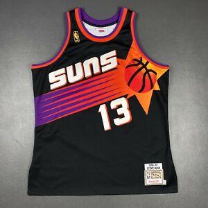 100% Authentic Steve Nash Mitchell & Ness 96 97 Suns Jersey Size 48 XL Mens