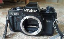 Minolta X-700 35mm SLR Film Camera with 2 lenses. Very good condition.