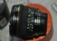 Tokina 17mm F/3.5 aspherical AF Lens For Nikon Nikkor Rare UV filter Hood FX