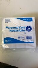 Dynarex Personal Care Washcloth White Disposable 12 x 13 Inch Pack of 50