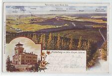 Fichtelberg  Panorama Oberwiesenthal 1902  Erzgebierge