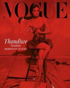 VOGUE UK - May 2021 - Thandiwe Newton - Thandie