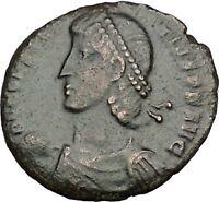 CONSTANTIUS II son of Constantine the Great w labarum Ancient Roman Coin i50758