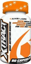 AXIS LABS XTRACT 80 Capsules Diuretic water fat loss ripped freak xpel FREE POST