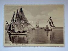 TERMOLI Ritorno dalla pesca barca vela Campobasso vecchia cartolina