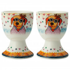Maxwell & Williams Smile Style Egg Cup 2er-Set Posey, Gift Box, Porcelain,