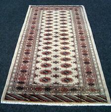 Edad Orient alfombra de 162 x 92 cm Bakhara beige Turkman torkman Carpet Rug tapis