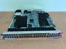 Cisco WS-X6748-GE-TX 48 Port 10/100/100 RJ-45  Ethernet Switching Module