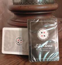 Poker Karten Spielkarten~Limited Edition Two~52 Aces~Int. Designprojekt~OVP/NEU